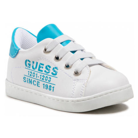 Guess Sneakersy Andrea FT5AND ELE12 Biały