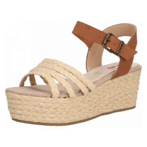 MTNG Sandały z rzemykami 'NEW SOCOTRA' brązowy / piaskowy