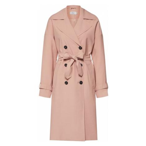 ONLY Płaszcz przejściowy 'EMILIA' różowy pudrowy