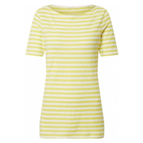 Marc O'Polo Koszulka cytrynowy / biały