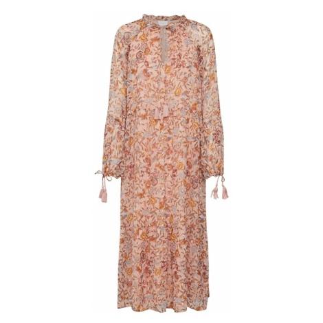 VILA Sukienka 'FALIA' różowy pudrowy / pomarańczowo-czerwony
