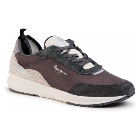 Sneakersy PEPE JEANS - N22 Summer PMS30624 Antracite 982