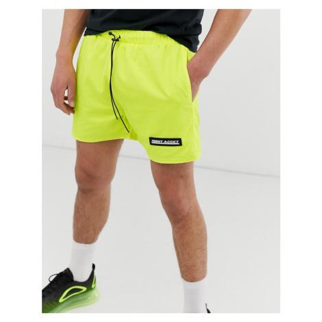 Night Addict neon running shorts