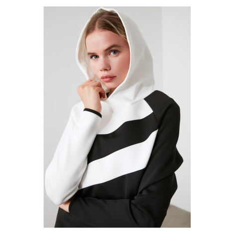 Bluza z kapturem damska Trendyol Color Block
