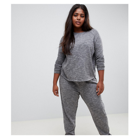 ASOS DESIGN Curve sweat and jogger set