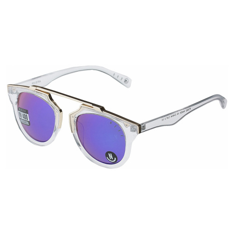 okulary Neff Riviera - Clear/Gold/Revo