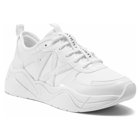 Sneakersy ARMANI EXCHANGE - XDX039 XV311 00152 White