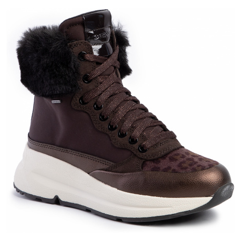 Sneakersy GEOX - D Backsie B Abx A D94FPA 01122 C6T6M Dk Coffee/Coffee
