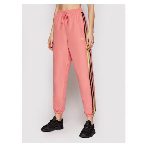 Adidas Spodnie dresowe Fakten GN4391 Różowy Regular Fit