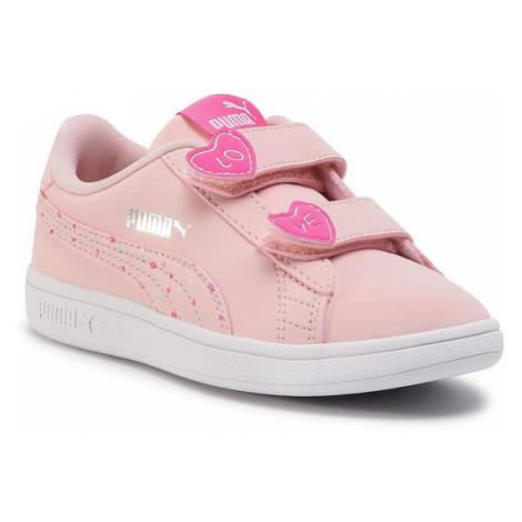 Puma Sneakersy Smash v2 Cndy V Ps 373187 01 Różowy