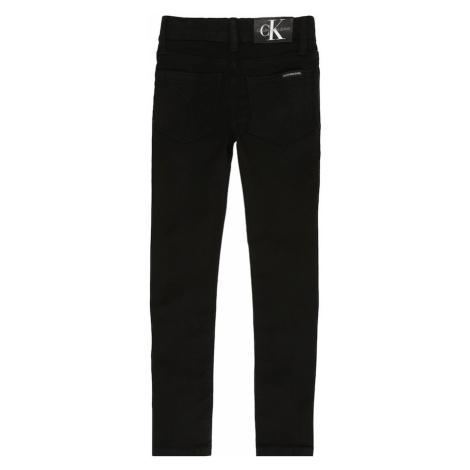 Calvin Klein Jeans Jeansy 'SKINNY SUST BLACK ST' czarny denim