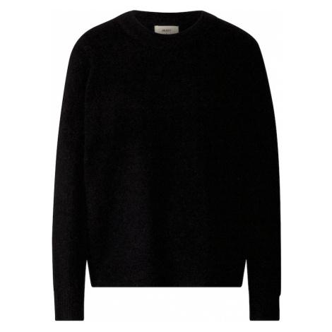 OBJECT Sweter czarny
