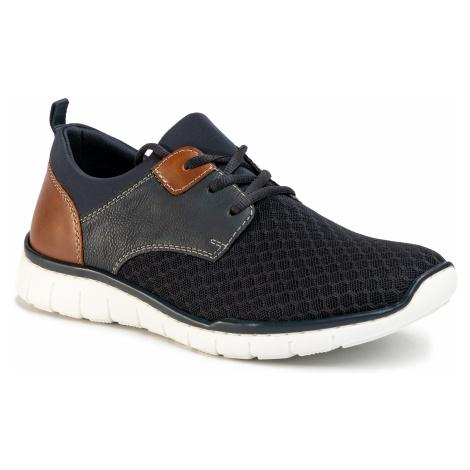 Sneakersy RIEKER - B8751-14 Blau Kombi