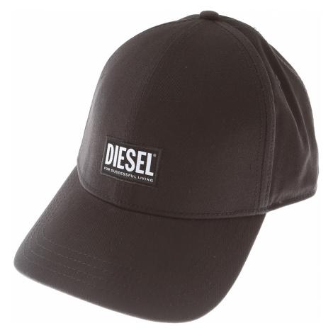 Diesel Czapka dla Mężczyzn, czarny, Tkanina, 2021