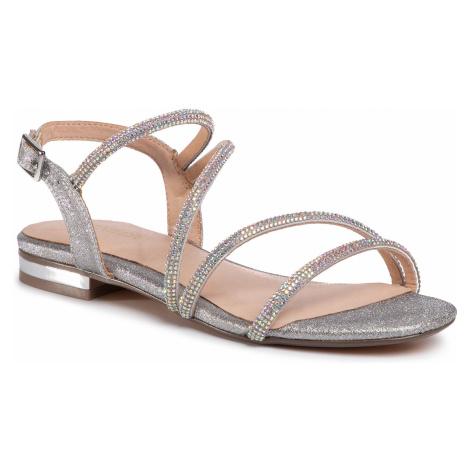 Sandały MENBUR - 21684 Silver 0009