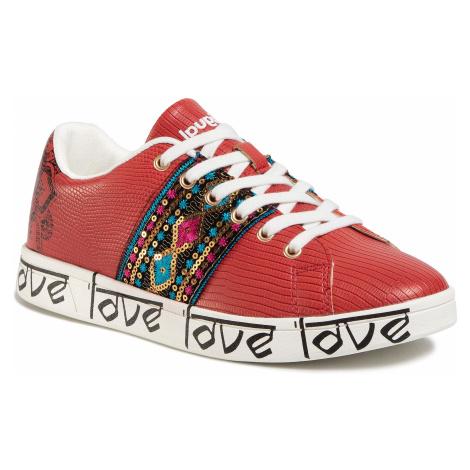 Sneakersy DESIGUAL - Cosmic Exotic Indian 20SSKP26 3061