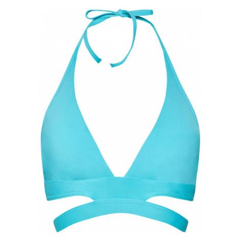 Seafolly Góra od bikini Active Halter 30645-058 Niebieski