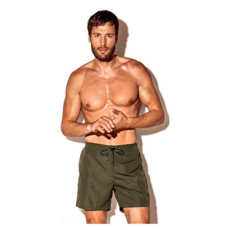 Męskie szorty kąpielowe Porter oliwkowe David 52
