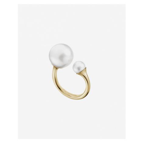 Calvin Klein Jazzy Pierścień Złoty