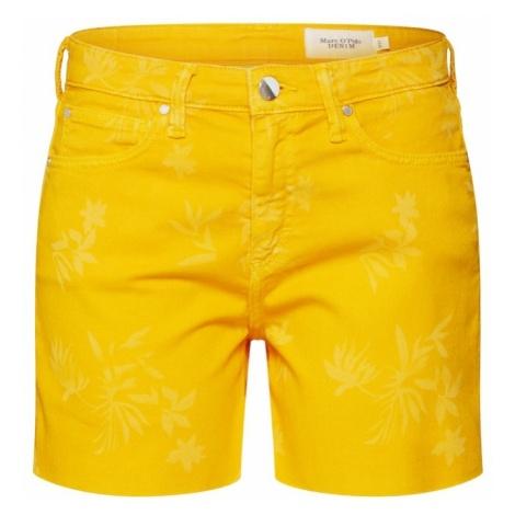 Marc O'Polo DENIM Jeansy żółty / pomarańczowy