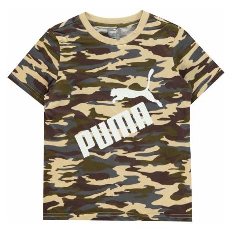 Puma Camo Logo QT T Shirt Junior Boys