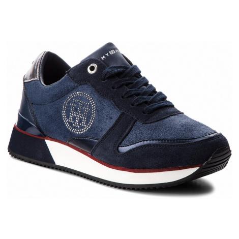 Sneakersy TOMMY HILFIGER - Stud City Snea FW0FW03229 Rwb 020