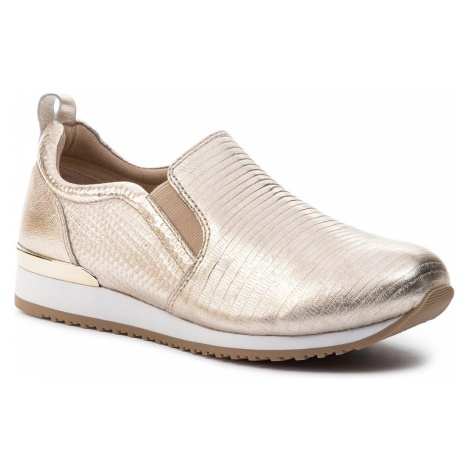 Sneakersy CAPRICE - 9-24600-22 Lt Gold Comb 977