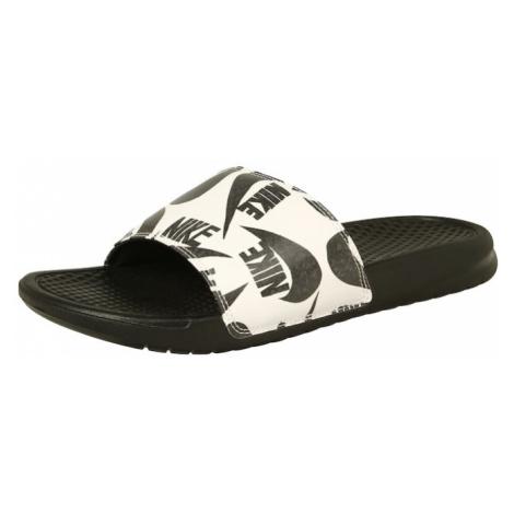 Nike Sportswear Klapki 'Benassi JDI' czarny / biały