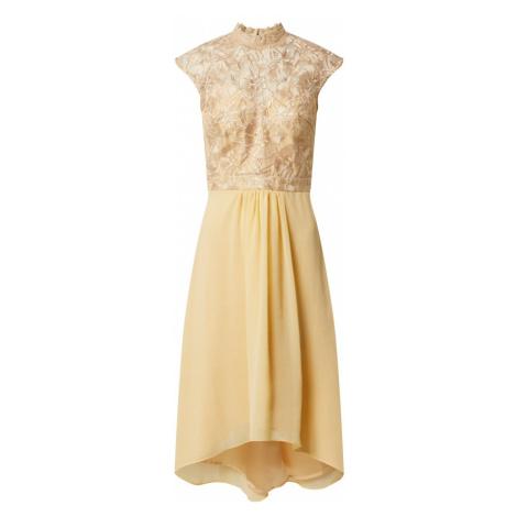 Chi Chi London Sukienka koktajlowa 'Jaenie' żółty