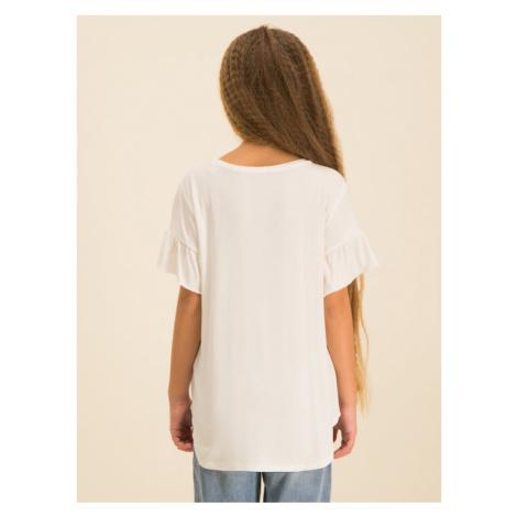 Guess T-Shirt J01I09 K83C0 Beżowy Regular Fit