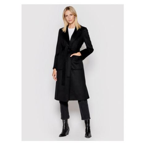 MAX&Co. Płaszcz wełniany Runaway 40119721 Czarny Regular Fit
