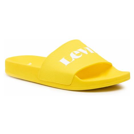 Klapki LEVI'S® - 233026-753-73 Yellow Levi´s