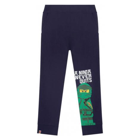 LEGO Wear Spodnie dresowe 12010125 Granatowy Regular Fit