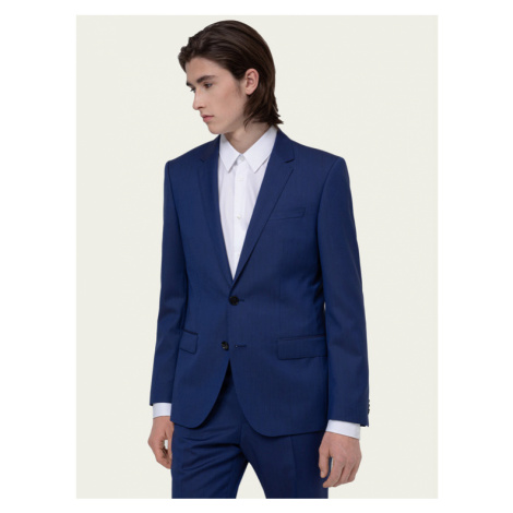 Hugo Garnitur Henry/Griffin182 50383613 Granatowy Slim Fit Hugo Boss