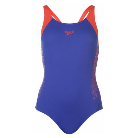 Speedo Boom Racer Swimsuit Ladies