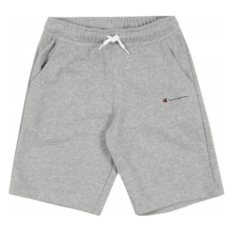 Champion Authentic Athletic Apparel Spodnie 'Bermuda' czerwony / nakrapiany szary / ciemny niebi