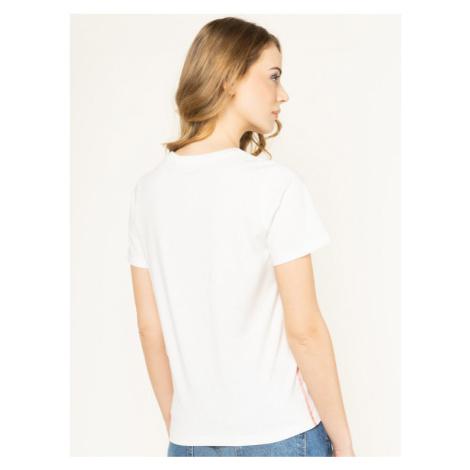Pepe Jeans T-Shirt Kara PL504341 Beżowy Regular Fit