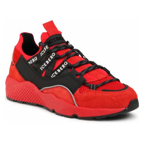 Sneakersy ICEBERG - MIU1365C Full Red