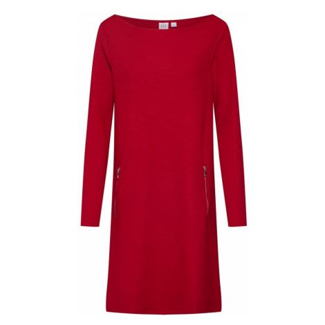 GAP Sukienka 'LS ALINE DRS W ZIP' ognisto-czerwony