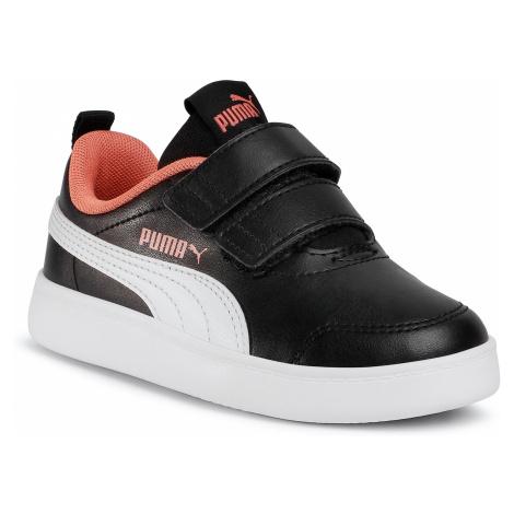 Sneakersy PUMA - Courtflex v2 V PS 371543 09 Puma Black/Puma White