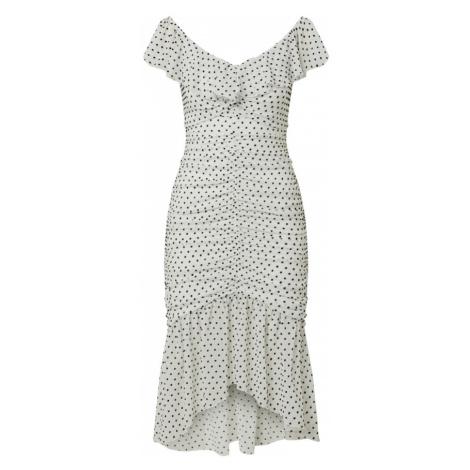 Miss Selfridge Sukienka koktajlowa biały / czarny