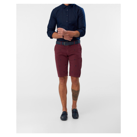 Men's shorts Trendyol Embroidered