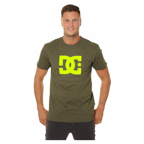 T-shirt DC Star 2 - XCCY/Fatigue Green/Safety Yellow