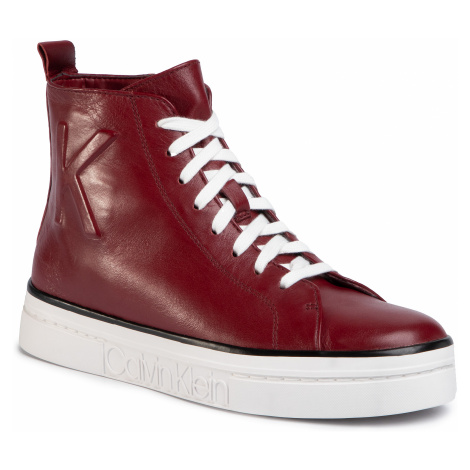 Sneakersy CALVIN KLEIN - Katrice E7548 Red Rock