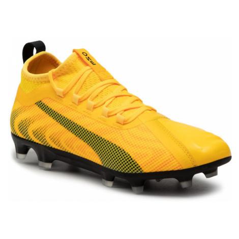 żółte buty do piłki nożnej