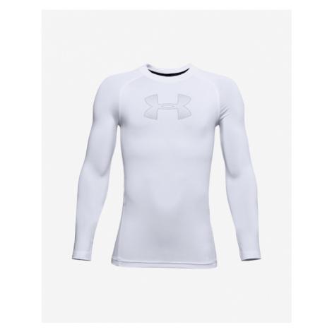 Under Armour HeatGear® Armour Koszulka dziecięce Biały