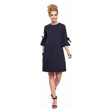 Made Of Emotion Woman's Dress M286 Navy Blue