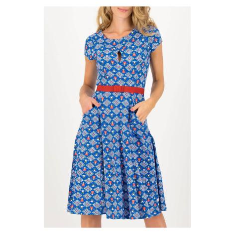 Blutsgeschwister niebieski sukienka Sally Tomatoe Windmolen Land