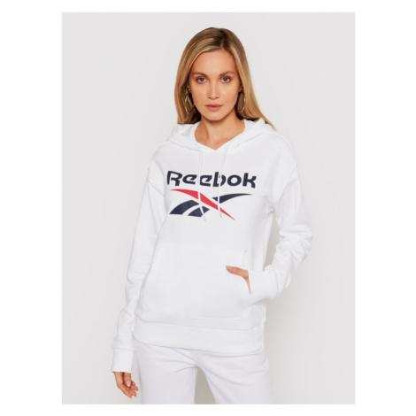 Reebok Bluza Identity Logo GI6700 Biały Oversize