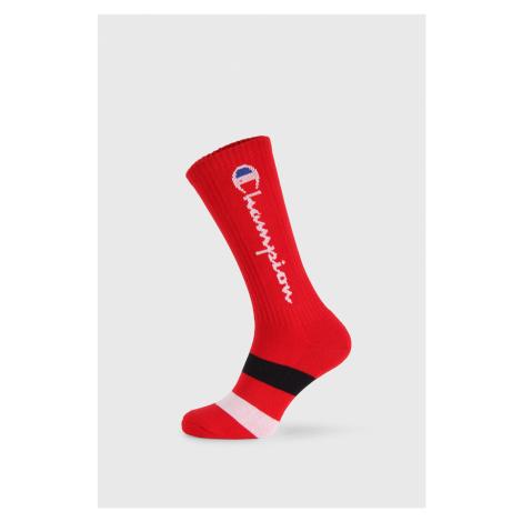 Wysokie czerwone skarpetki Champion Rochester